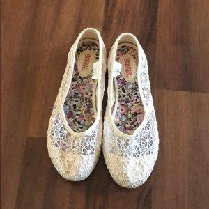 Worn once, Bongo, flat shoes. Size 7.